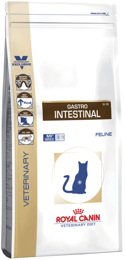 Из чего состоит корм royal canin gastro intestinal для котов: подробный обзор