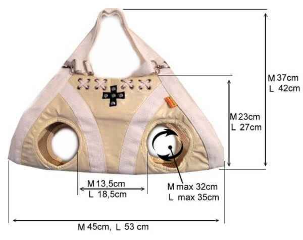 Какие существуют сумки переноски для собаки мелкой или крупной породы