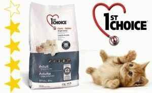 Подробный обзор корма для кошек 1st choice: из чего состоит и как давать