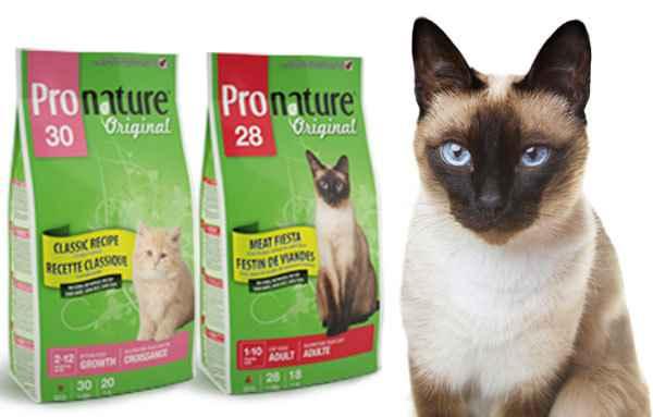 Обзор сухих кормов от бренда pronature holistic для котенка и взрослой кошки